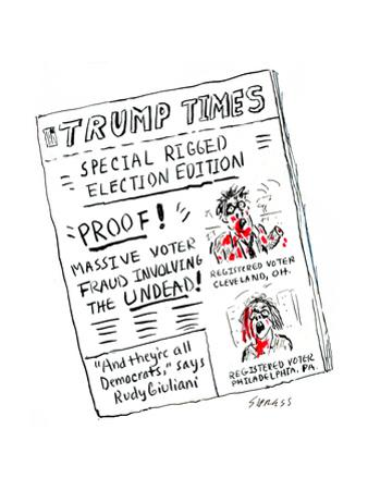 Trump Times - Cartoon