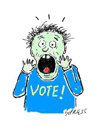 VOTE! - Cartoon