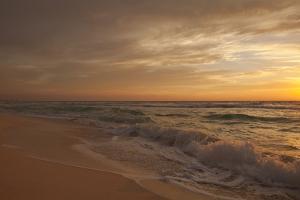 Cancun at Sunrise. by David Stuart