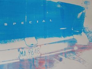 Blue Car by David Studwell