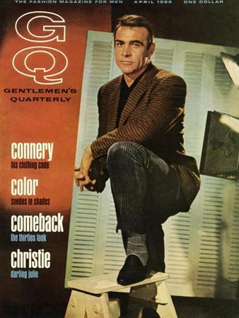 GQ Cover - April 1966