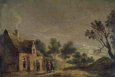 A Tavern at Night, 17th Century by David Teniers the Younger