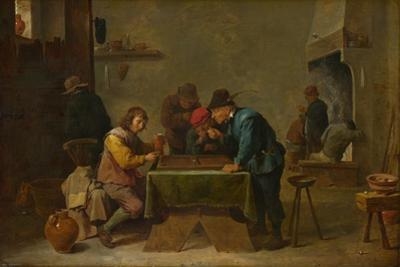 Backgammon Players, C. 1645 by David Teniers the Younger