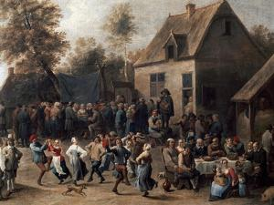 Country Celebration by David Teniers the Younger