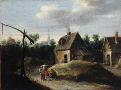 Country Landscape, 17th Century by David Teniers the Younger