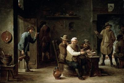In a Tavern, 1640S by David Teniers the Younger