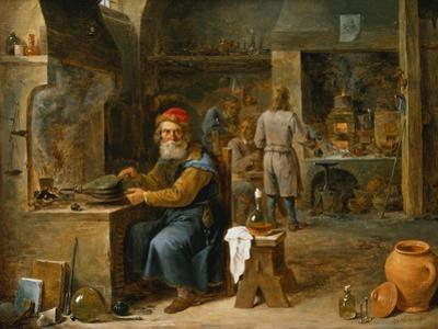 The Alchemist by David Teniers the Younger