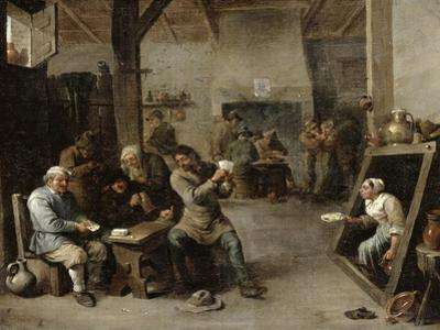 The Card Players by David Teniers the Younger