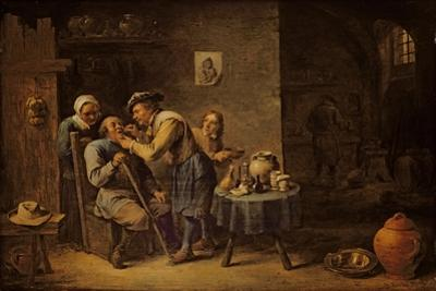 The Dentist, 1652 by David Teniers the Younger
