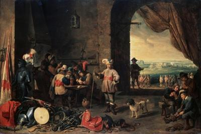 The Guardroom, 1642 by David Teniers the Younger