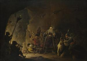 The Rich Man Being Led to Hell, C. 1647-1648 by David Teniers the Younger