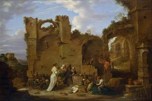 The Temptation of Saint Anthony by David Teniers the Younger