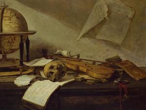 Vanite du Savoir - Vanity of knowledge by David Teniers the Younger