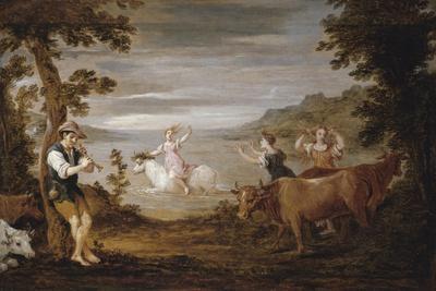 The Rape of Europa, 1654-56