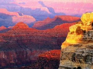 Grand Canyon from South Rim at Hopi Point, Grand Canyon National Park, Arizona by David Tomlinson