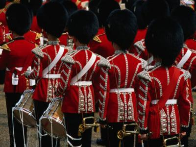 """""""Horseguards"""" Parade at the Trooping of the Colour, London, England"""