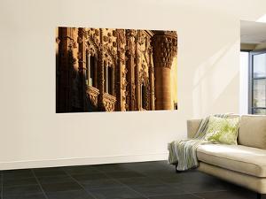 Isabelline Gothic Facade of Palacio De Jabalquinto by David Tomlinson