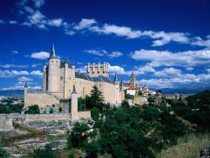 The Alcazar, Segovia, Castilla-Y Leon, Spain by David Tomlinson