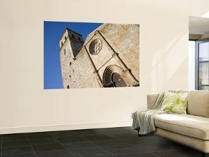 West Facade of 13th Century Iglesia De Santa Maria La Mayor by David Tomlinson