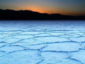 Badwater Salt Flats by David Toussaint