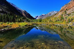 Lundy Canyon Reflections by David Toussaint