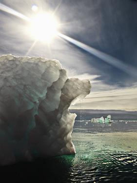 Iceberg Melting in the Sun. by David Trood