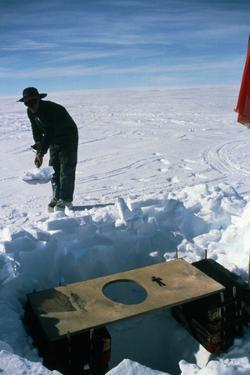 Antarctic Toilet by David Vaughan