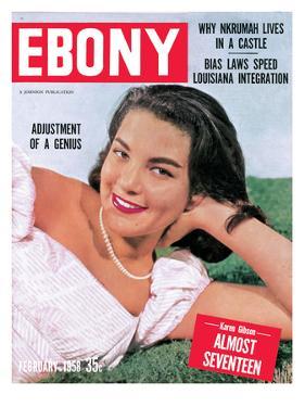 Ebony February 1958 by David W. Jackson