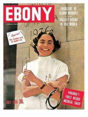 Ebony July 1955 by David W. Jackson