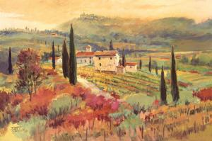 September In Tuscany II by David W. Jackson