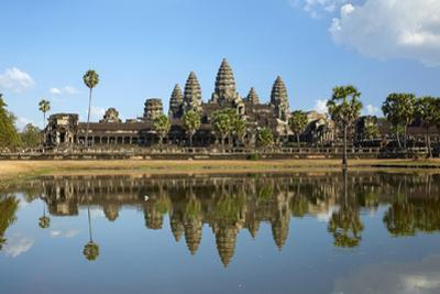 Angkor Wat Temple Complex, Angkor World Heritage Site, Siem Reap, Cambodia by David Wall
