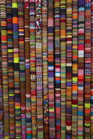 Bracelets at handcraft shop, Cusco, Peru by David Wall