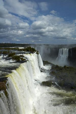Brazil side of Iguazu Falls, Brazil, Argentina border by David Wall