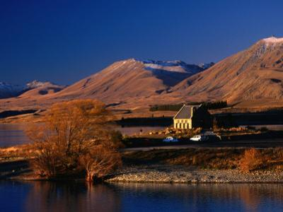 Church of the Good Shepherd, Set on the Shores of Lake Tekapo, Canterbury, New Zealand by David Wall