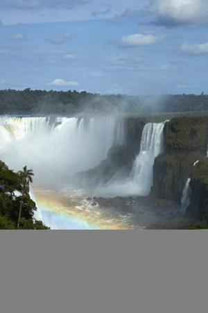 Devils Throat, Iguazu Falls, Brazil, Argentina border by David Wall