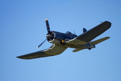 Goodyear Corsair FG-1D 'Whispering Death' Fighter Bomber by David Wall
