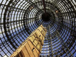 Historical Shot Tower, Melbourne Central Mall, Melbourne, Victoria, Australia by David Wall