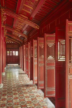 Hung Mieu Temple, Historic Hue Citadel, Imperial City, Hue, Vietnam by David Wall