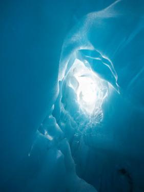 Ice Formation in Franz Josef Glacier, South Island, New Zealand by David Wall