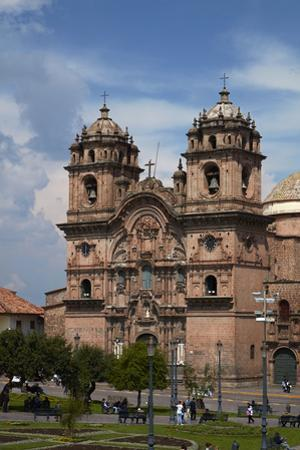 Iglesia de la Compania (built 1605-1765), Plaza de Armas, Cusco, Peru by David Wall