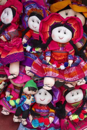 Indigenous dolls, Cusco, Peru by David Wall