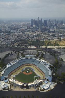 Los Angeles, Dodger Stadium, Home of the Los Angeles Dodgers by David Wall
