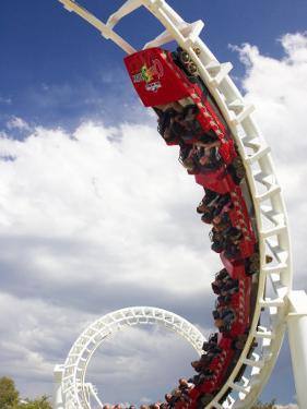 Rollercoaster, Sea World, Gold Coast, Queensland, Australia by David Wall