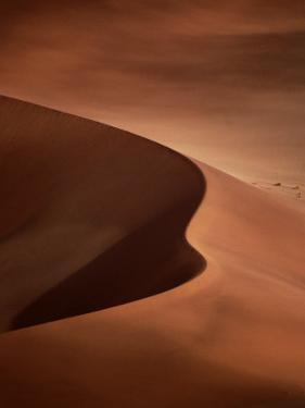 Sand Dunes, Sossusvlei, Namibia by David Wall