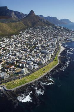 Sea Point Promenade, Lion's Head, Cape Town, South Africa by David Wall