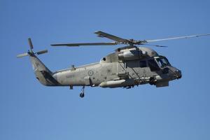 Seasprite Helicopter (Kaman SH 2G Seasprite) Airshow by David Wall