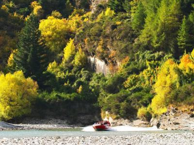 Shotover Jet, Shotover River, Queenstown, New Zealand by David Wall