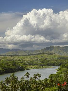 Sigatoka River, Lower Sigatoka Valley, Coral Coast, Viti Levu, Fiji, South Pacific by David Wall
