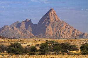 Spitzkoppe (1784 Meters), Namibia by David Wall