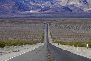 SR 190 Through Death Valley NP, Mojave Desert, California by David Wall